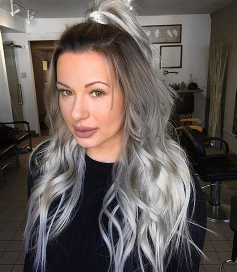 Neutral Color A Little Koko Inspired Hairstyle Color Fanola Roots 6 11