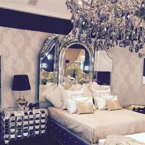 michelle amazing master bedroom decor  bling
