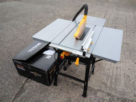 circular saw table saw adapter titan ttb674tas 254mm table saw joinery circular tilting