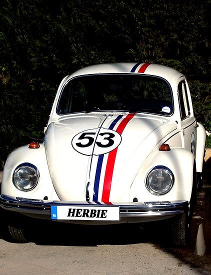 kaos herbie vw 53 by maka herbie slugbug