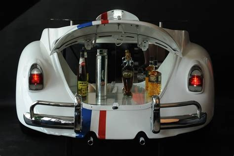 Kitchen Exhaust Design by Vintage Styled Vw Beetle Herbie Bar Rolls Your Home