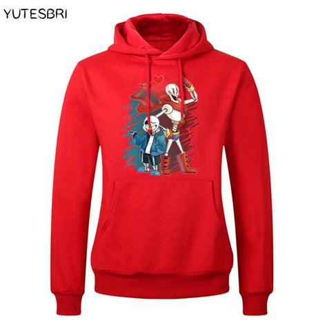 Hoodie Undertale Sans 2 hoodies undertale sans and papyrus hoodie skateboard sudadera hip hop undertale