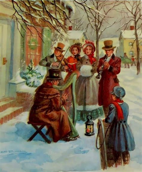 17 best images about holiday carolers on pinterest