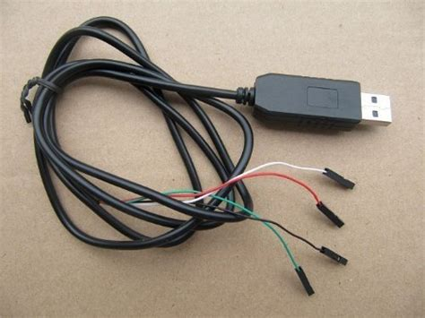 Kabel Konverter Usb Pl2303ta To Rs232 Black raspberry pi konsolenkabel verwenden usb to serial