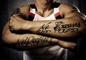 25 striking tattoo quotes for men creativefan