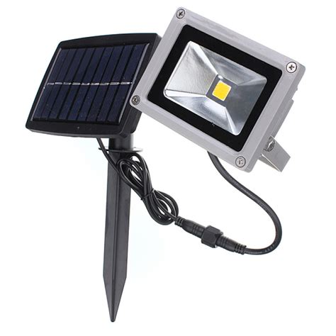 Led Outdoor Solar Lights Buy 10w Solar Power Led Flood Light Waterproof Outdoor Landscape Spotlight Bazaargadgets