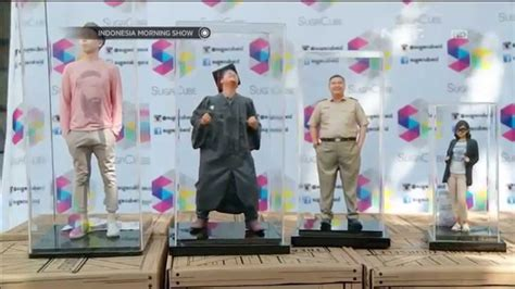 Printer 3d Jakarta sugacube karya visualisasi foto menjadi figur 3d ims