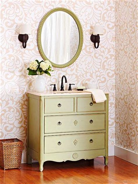 turn a dresser into a bathroom vanity bathroom ideas