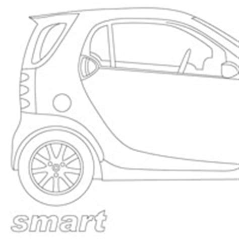 smart car coloring page speed coloring book