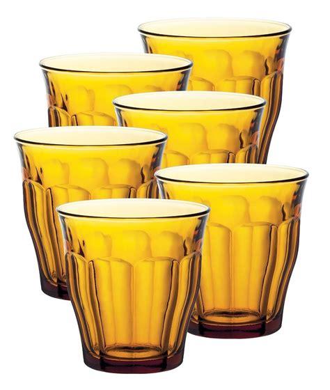 bicchieri duralex duralex picardie sets 4 or 6 toughened glass
