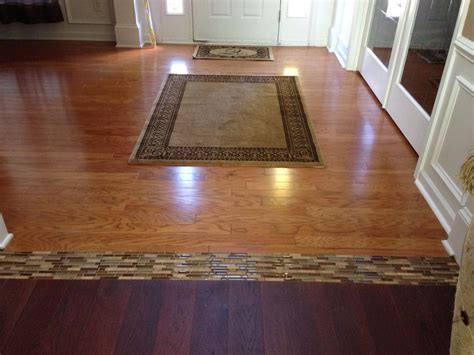 1 Inch Wood Floor Transition - i just finished this project existing hardwood