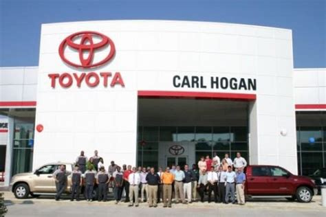 Toyota Dealership Mississippi Carl Toyota Car Dealership In Columbus Ms 39705