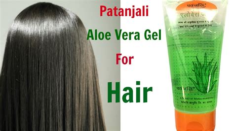 How To Use Hair Gel For Hair by How To Use Patanjali Aloe Vera Gel For Hair Top 5 Ways