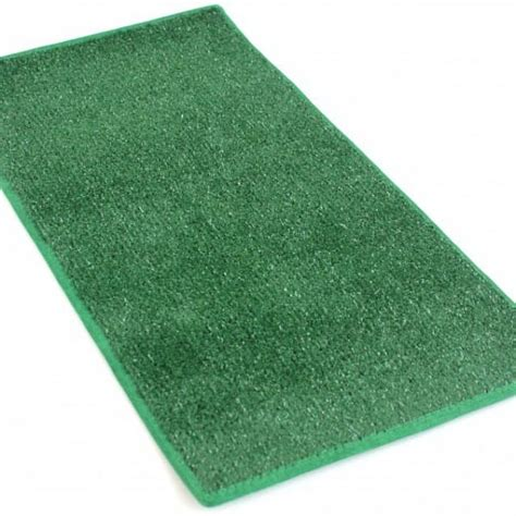 Green Heavy Indoor Outdoor Artificial Grass Turf Area Rug Outdoor Grass Rugs