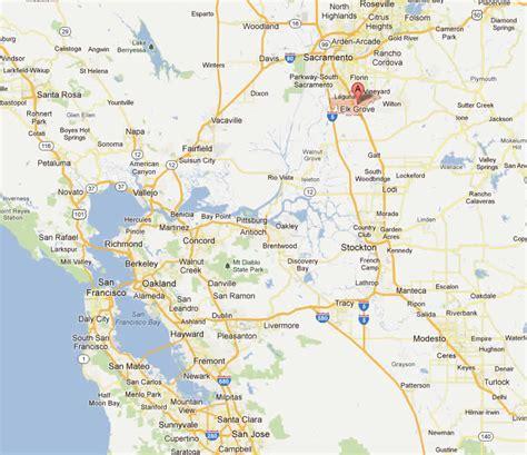 california map elk grove elk grove california map