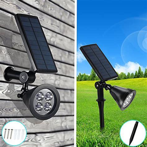 illuminazione da giardino solare lada solare wireless da esterno solari con 4 led