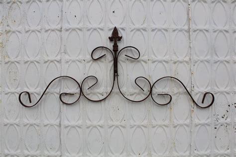 wrought iron fancy wall decor