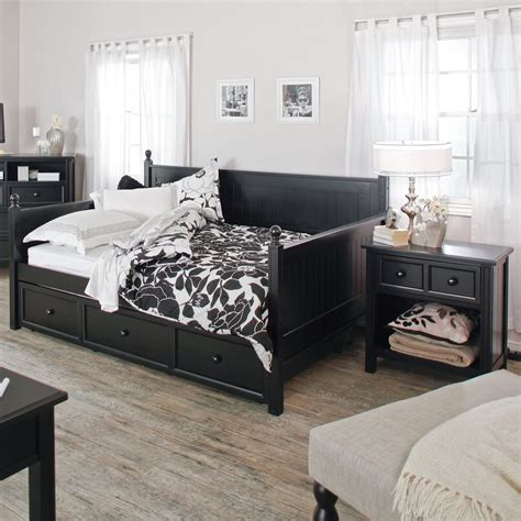 double day bed black full daybed frame full daybed frame furniture