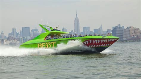 beast boat ride nyc coupon the beast is back get wet on this nyc speedboat ride