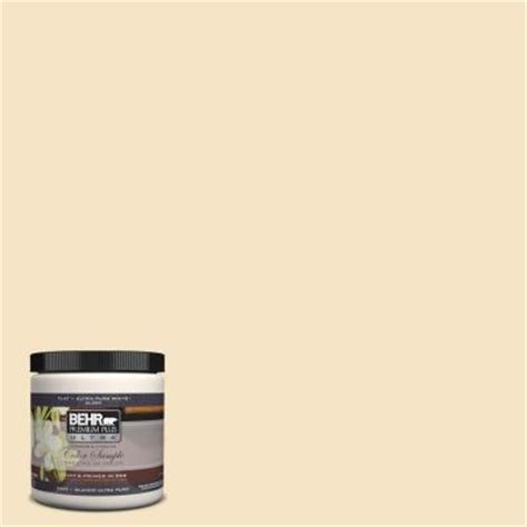 Behr Premium Plus Ultra 8 Oz 330c 2 Lightweight Beige