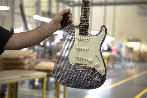How To Make A Handmade Guitar - an working handmade custom fender stratocaster