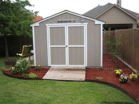 improve the looks of a storage shed landscaping backyard and yards