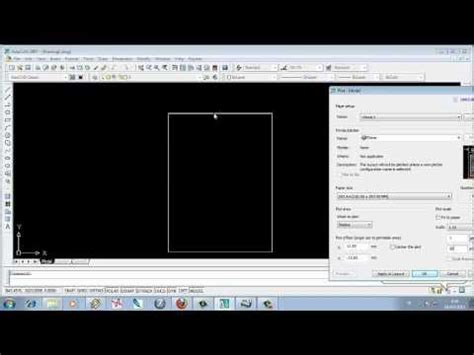 tutorial autocad 2007 youtube indonesia video tutorial menentukan skala dan satuan ukuran pada