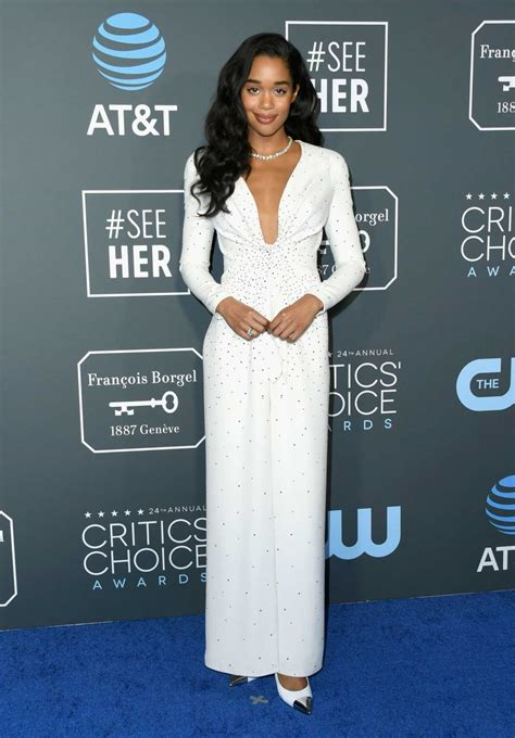 laura harrier old laura harrier attends the 24th annual critics choice