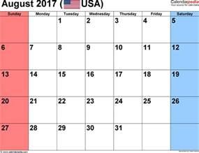 Brunei Calendario 2018 August 2017 Calendars For Word Excel Pdf