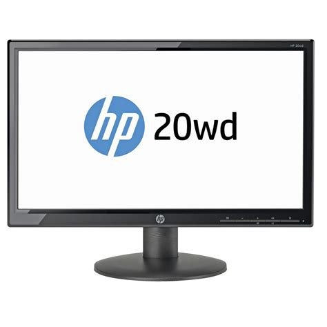 Monitor Led Hp 19 Inch hp 20wd 19 led backlit monitor new ebay