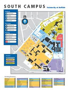 Buffalo State Campus Map by South Campus Bing Images