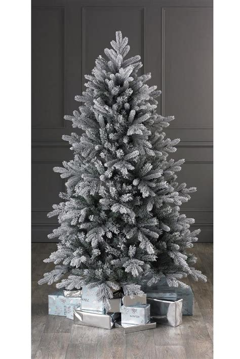 6ft tree no lights 7ft quality vermont flocked tree no lights