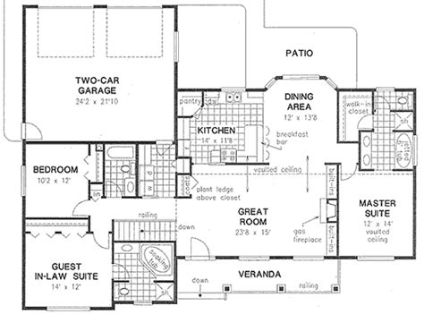 house plan 58558 at familyhomeplans