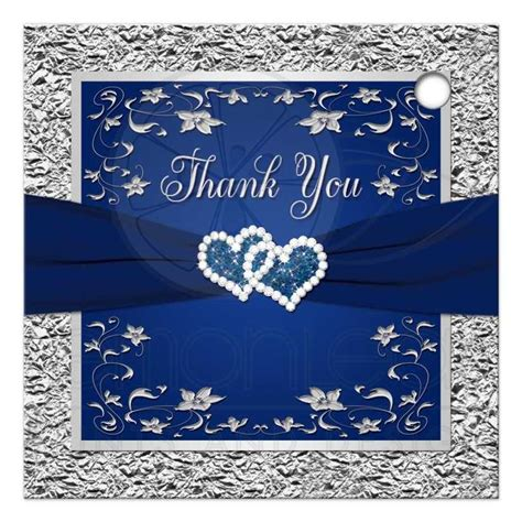 Navy Wedding Background by Wedding Favor Tag 3 Navy Blue Silver Faux Foil Floral
