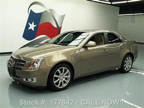 Cadillac Cts Sunroof by Find Used 2008 Cadillac Cts Sedan Pano Sunroof Htd Leather