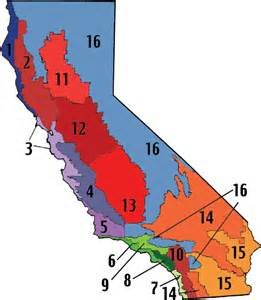 california zone map southern california climate zone map images frompo 1