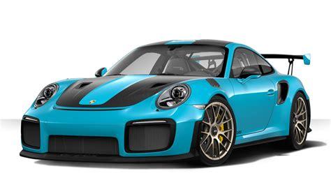 miami blue porsche gt3 rs porsche 911 gt2 rs configurator is now online
