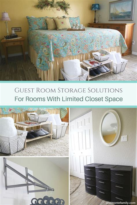 guest bedroom storage ideas easy guest room storage solutions altamonte family