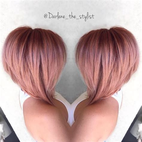 rose gold hair color aboutwomanbeauty com