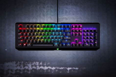 Razer Blackwidow Chroma Keyboard Gaming razer blackwidow x chroma mechanical gaming keyboard