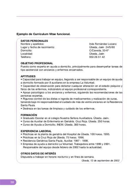 Modelo Curriculum Vitae De Peluquera Desarrollo De Habilidades Personales El Curriculum Vitae