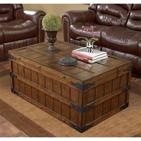 living room trunk table variants of trunk end table homesfeed
