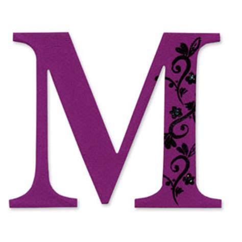 letter m layout 654728 sizzix bigz die alphabet uppercase die sassy serif