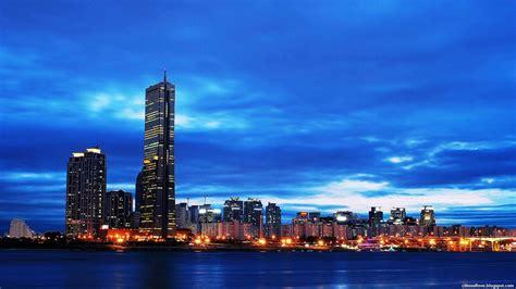 City Light Capital seoul special capital city light south korea hd