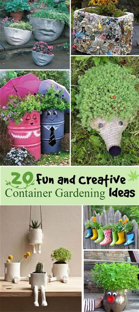 container gardening complete creative projects for growing vegetables and flowers in small spaces books 20 and creative container gardening ideas hative