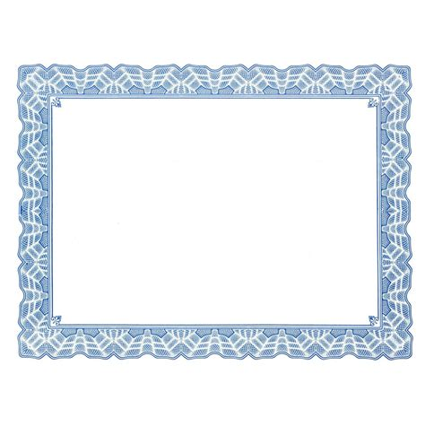 frame template free certificate border templates for word