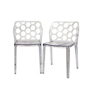 honeycomb lucite chairs  insaneand
