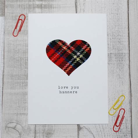 Handmade Cards Scotland - you hunners scottish s day card by hiya