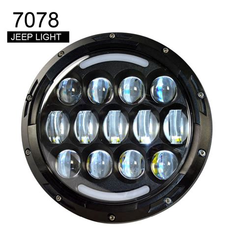 Led Headlights For Jeep Wrangler Jk 78w 7 Inch Cree Led Headlight Drl H L For Jeep Wrangler Jk
