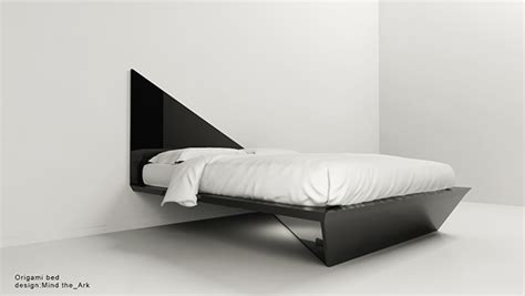 Origami Bed - origami bed design by mind the ark architectural office on